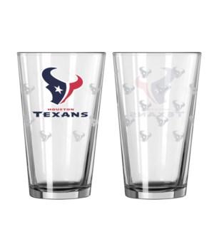 GLASS PINT SET - HOU TEXANS
