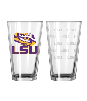 GLASS PINT SET - LSU TIGERS