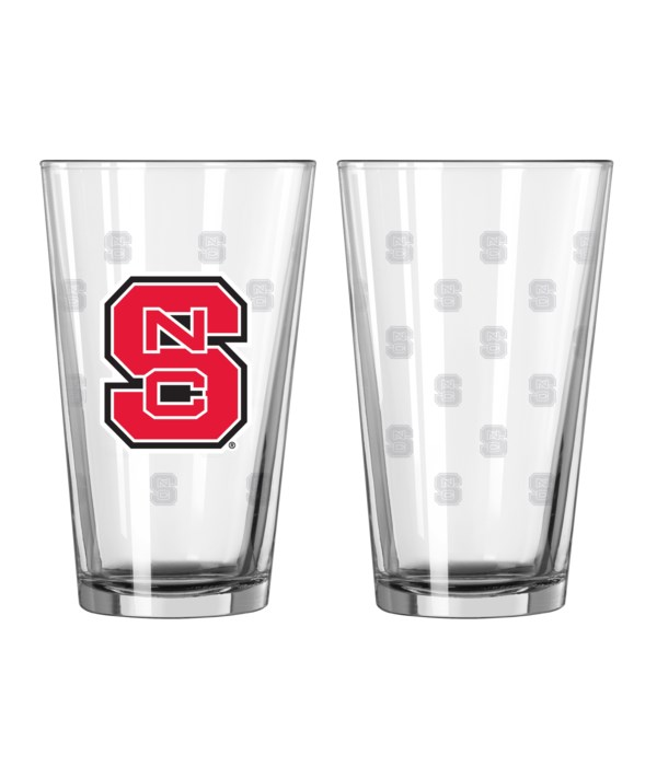GLASS PINT SET - NC STATE WOLFPACK