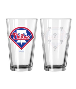 GLASS PINT SET - PHIL PHILLIES
