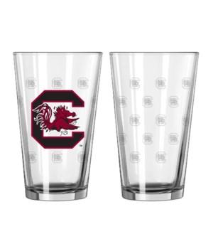 GLASS PINT SET - SOUTH CAROLINA