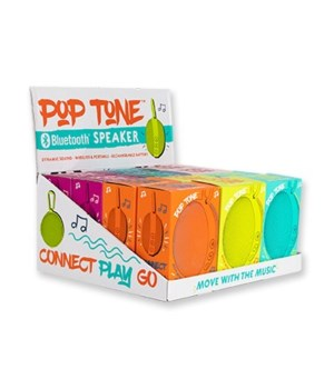 Pop Tone Bluetooth Speaker 12PC Unit