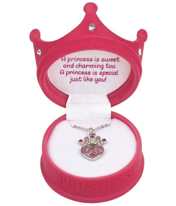 Princess Crown Pendant 12PC