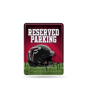 PARKING SIGN - ATL FALCONS