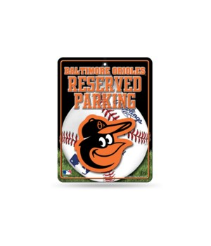 PARKING SIGN - BALT ORIOLES