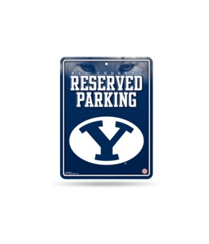 PARKING SIGN - BRIGHAM YOUNG