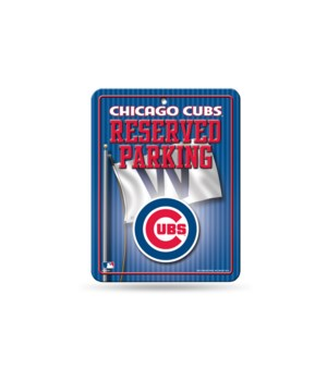 PARKING SIGN - CHI CUBS