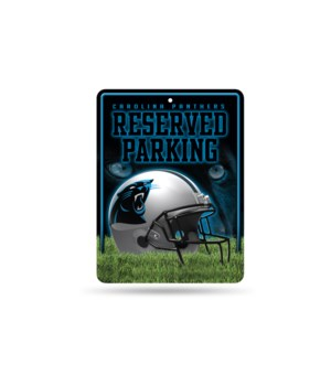 PARKING SIGN - CAR PANTHERS