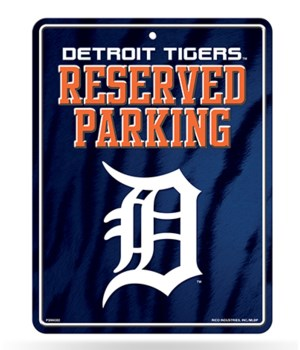 PARKING SIGN - DET TIGERS