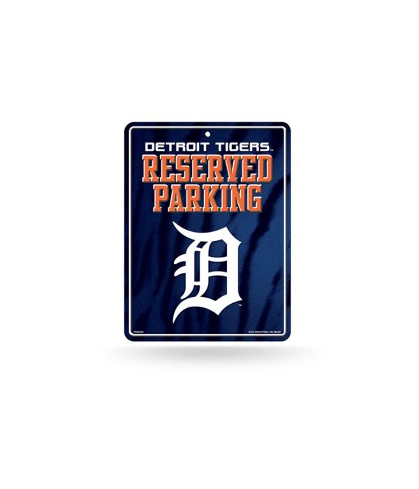 PARKING SIGN - DET TIGERS