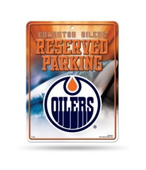 PARKING SIGN - EDMONTON OILERS