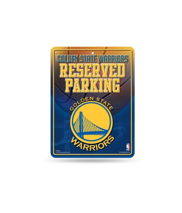 PARKING SIGN - GOLDEN STATE WARRIORS