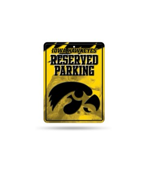 PARKING SIGN - IOWA HAWKEYES