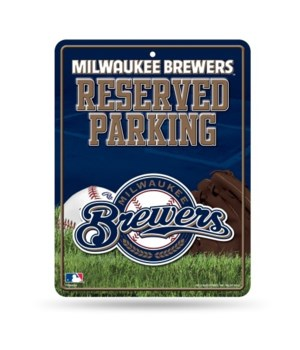 PARKING SIGN - MIL BREWERS