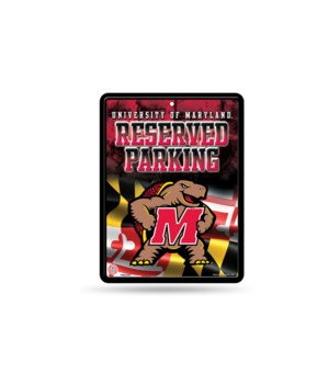 PARKING SIGN - MD TERRAPINS