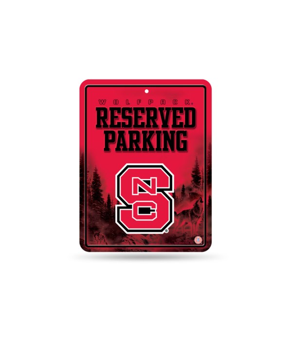 PARKING SIGN - NC STATE WOLFPACK