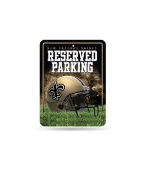 PARKING SIGN - NO SAINTS