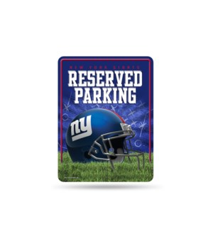 PARKING SIGN - NY GIANTS