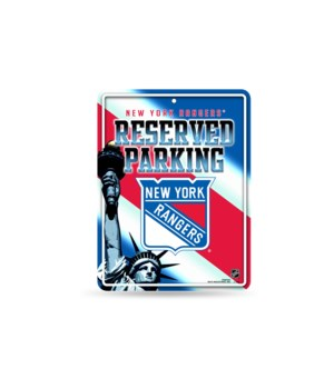 PARKING SIGN - NY RANGERS