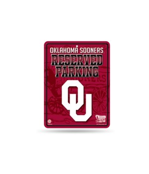 PARKING SIGN - OKL SOONERS