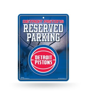 PARKING SIGN - DET PISTONS