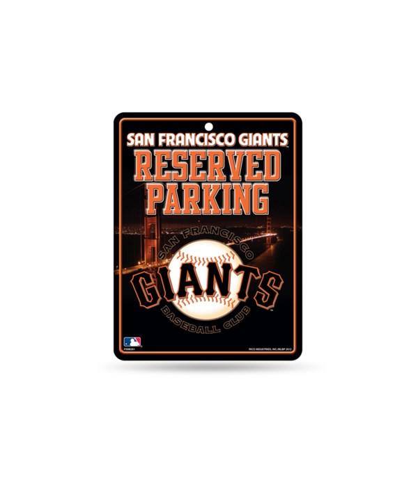 PARKING SIGN - SAN FRANCISCO GIANTS
