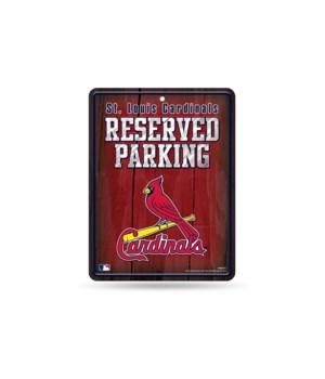 PARKING SIGN - ST LOUIS CARDINALS