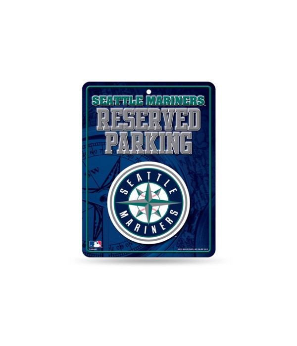 PARKING SIGN - SEATTLE MARINERS