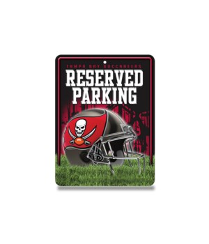PARKING SIGN - TAMPA BAY BUCS