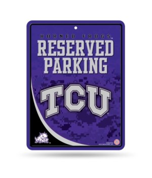 PARKING SIGN - TEXAS CHRISTIAN