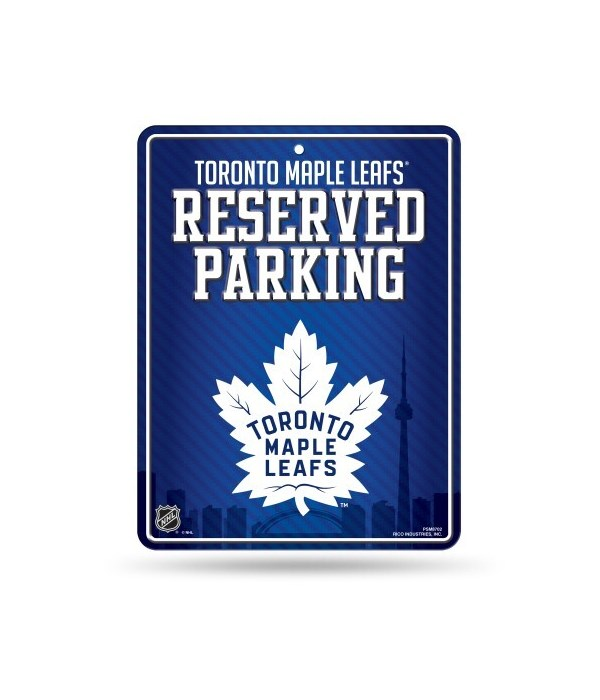PARKING SIGN - TOR MAPLE LEAFS