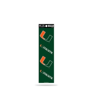 QUAD DECAL - MIAMI HURRICANES