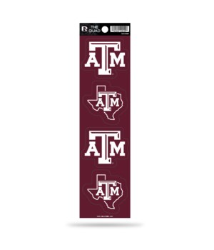 QUAD DECAL - TEXAS A&M