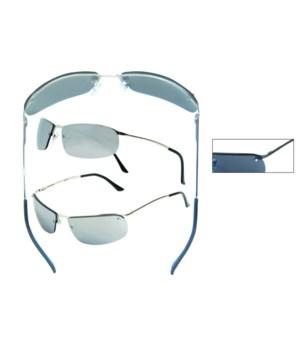 Metal Wire Rimless Sunglasses - Men's