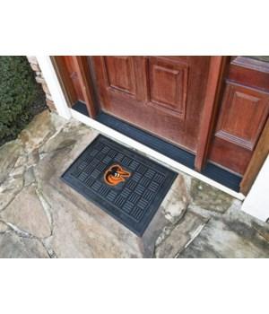 RUBBER DOOR MAT - BALT ORIOLES