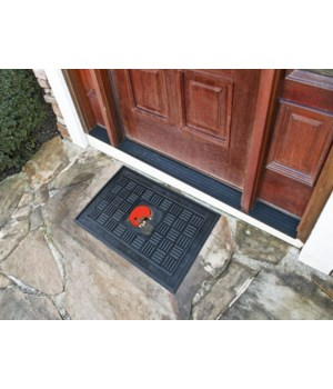 RUBBER DOOR MAT - CLEV BROWNS
