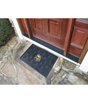 RUBBER DOOR MAT - MINN VIKINGS