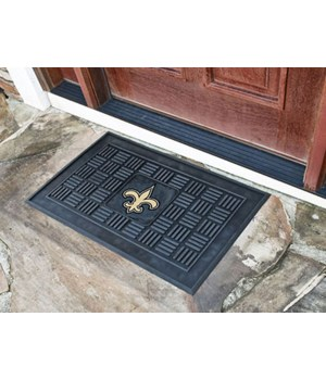 RUBBER DOOR MAT - NO SAINTS