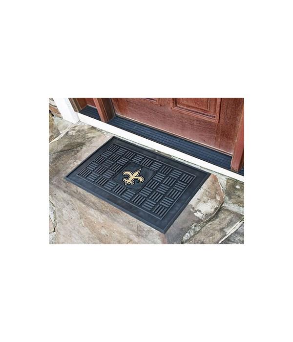 RUBBER DOOR MAT - NO SAINTS