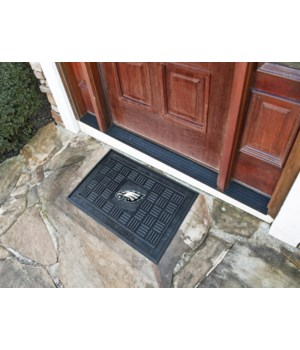 RUBBER DOOR MAT - PHIL EAGLES