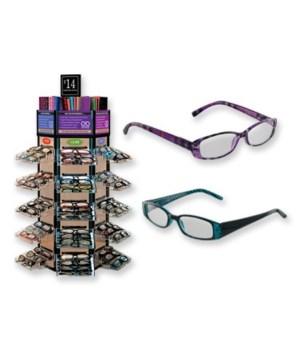 Opti Reading Glasses 108PC Unit
