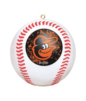 REPLICA ORNAMENT - BALT ORIOLES
