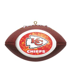 REPLICA ORNAMENT - KC CHIEFS