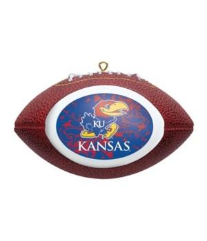 Kansas Jayhawks Replica Ornament