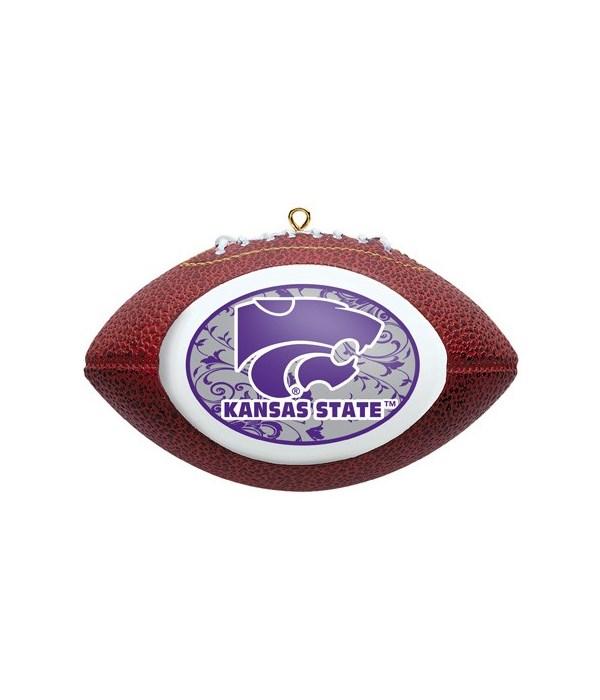 Kansas State Wildcats Replica Ornament