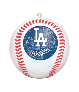 REPLICA ORNAMENT - LA DODGERS