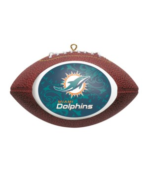 REPLICA ORNAMENT - MIA DOLPHINS