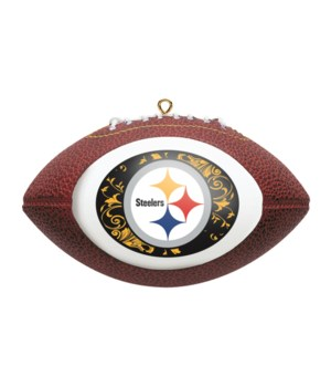 REPLICA ORNAMENT - PITT STEELERS