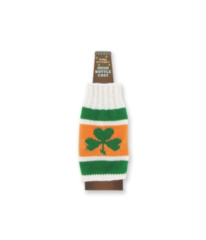 St Pats Irish Bottle Cozy 24PC