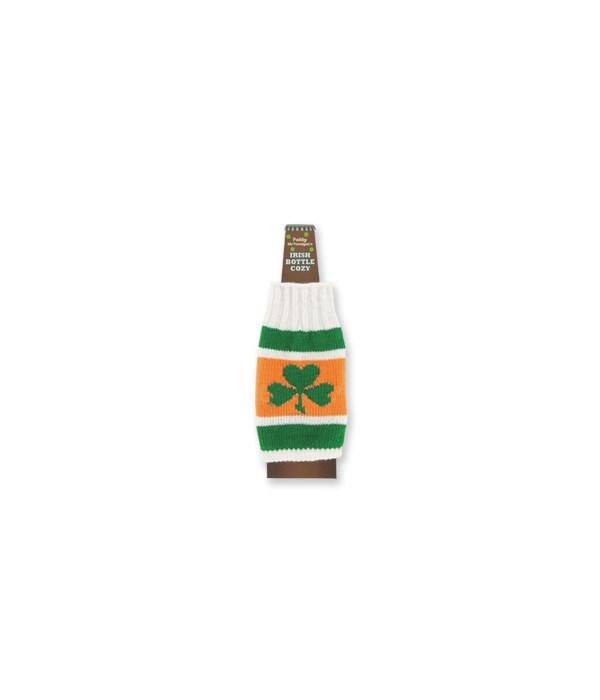St Pats Irish Bottle Cozy 24PC
